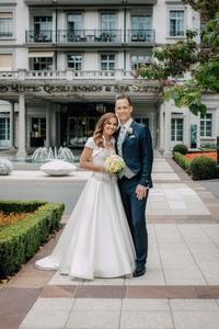 Martina Hingis -                             Wedding Photos Bad Ragaz Switzerland July 21st 2018.