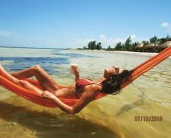 Sarah Hyland in a Bikini - 7/25/18 Instagram