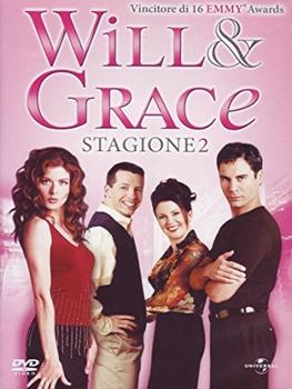 Will & Grace - Seconda stagione (1998-1999) 4 DVD9 COPIA 1:1 ITA ENG
