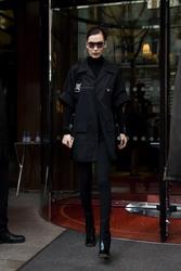 Bella Hadid - Leaving her hotel in Paris 3/1/19