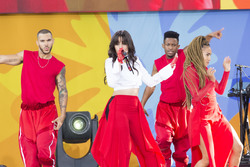 Camila Cabello -Performing at the Good Morning America Summer Concert Series in NYC 7/19/18