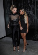 Rose Bertram & Tammy Hembrow - Leaving The Catch in West Hollywood 3/17/19