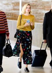 Margot Robbie - At Charles de Gaulle Airport 5/5/18