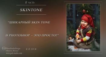 Шикарный SkinTone в Photoshop - это просто + Бонусы (2019) Видеокурс