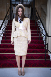 Keira Knightley - Investiture at Buckingham Palace in London 12/13/18