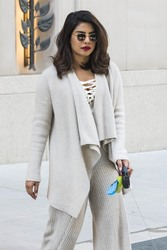 Priyanka Chopra - Out in NYC 4/23/18