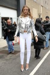 Kate Bock - Ralph Lauren Fashion Show in NYC 2/12/18