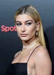 Hailey Baldwin - Spotify's Best New Artist Party in NYC 1/25/18