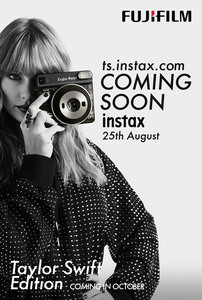 Taylor Swift - FujiFilm Instax Camera promo shoot (2018) *VIDEO ADDED*