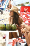 Alessandra Ambrosio in Bikini on the beach in Florianopolis 01/11/2018c51698717386883