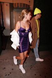 Delilah Belle Hamlin - Leaving Delilah Club in West Hollywood 1/31/19