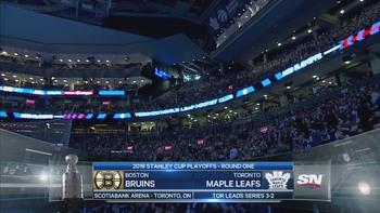 NHL 2019 - R1 G6 - Boston Bruins @ Toronto Maple Leafs - 2019 04 21 - 720p 60fps - English - SNO 181d081202555684