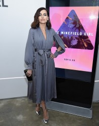 Camilla Belle - 'The Minefield Girl' Audio Visual Book Launch in NYC 1/31/18