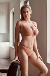 Kate Upton Modeling Lingerie For Yamamay 2018