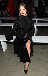 Debby Ryan - Prabal Gurung Fashion Show in NYC 9/9/18