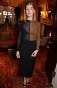 Rosamund Pike -  ''A Private War'' Lunch in Honour Of Rosamund Pike London November 21st 2018.