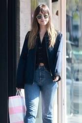 Dakota Johnson - Shopping in LA 4/4/18