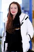 Lindsay Lohan - Arriving in Athens 2/23/19