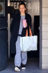 Jessica Alba - Leaving the gym in LA 2/23/18