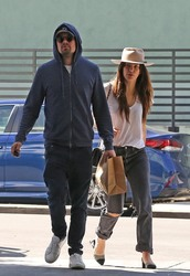 Camila Morrone - Out for lunch with Leonardo DiCaprio in Beverly Hills 3/28/18