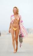 Brandi Glanville - Bikini candids at the beach in Santa Monica 6/27/18