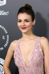 Victoria Justice - The Art of Elysium's 11th Annual Celebration in Santa Monica 1/6/18