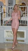 Valeria Marini - 'I'il Spose di Costantino' RAI2 Docu-reality Show Premiere In Rome (12/19/17)