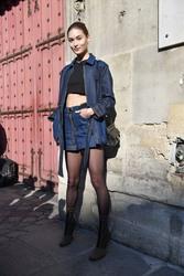 Grace Elizabeth - Arriving at the Lanvin Fashion Show in Paris 2/27/19