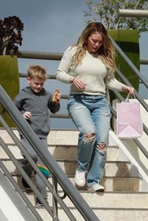 Hilary Duff - Out in Studio City 2/17/19