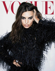 Emily Ratajkowski - Vogue Mexico & Latin America, October 2018