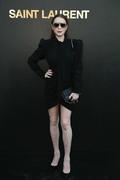 Lindsay Lohan - Saint Laurent Fashion Show in Paris 9/25/2018 882176985772624