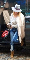 Kylie Minogue - Out in London 1/15/18