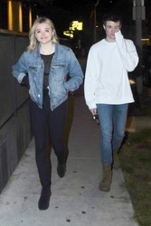 Chloe Grace Moretz - Out for dinner in West Hollywood 3/23/18