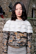 Bae Doona   -                               Louis Vuitton 2019 Cruise Collection Saint-Paul-De-Vence France May 28th 2018.