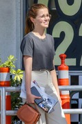 Zoey Deutch - Out for lunch in LA 6/1/18