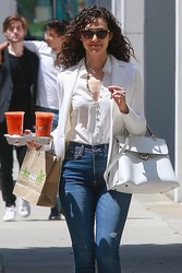 Emmy Rossum - Getting lunch in Beverly Hills 4/27/18