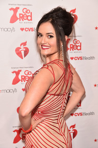 Danica McKellar - The American Heart Association's Go Red For Women Red Dress Collection 2019 in NYC 2/7/19