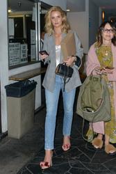 Rosie Huntington-Whiteley - Out for dinner in Santa Monica 4/11/18