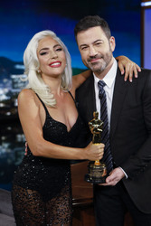 Lady Gaga - On Jimmy Kimmel Live in Hollywood 2/27/19