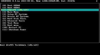 AdminPE 4.1 x86-x64 (2018) RUS