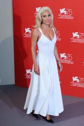 "Lady Gaga - ""A Star is Born"" Photocall during 75th Venice International Film Festival 8/31/18"