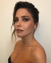 Sophia Bush Getting Her Hair and Makeup Ready For Create & Cultivate 100 - 1/25/18 Instagram