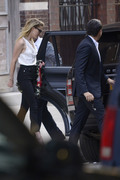 Amber Heard - Out for dinner in NYC 6/7/18