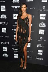 Lais Ribeiro - Harper's Bazaar Icons Party in NYC 9/7/18