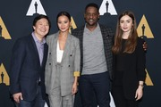Lily Collins - Academy Nicholl Fellowships in Screenwriting Awards Presentation & Live Read 11/8/18
