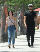 Lucy Hale - Hanging out with friends in Studio City 8/5/18