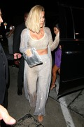 Khloe Kardashian - Arriving at Kylie Jenner's 21st Birthday Party in West Hollywood 8/9/18