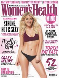 Mollie King -               Women's Health Magazine (UK) December 2017.