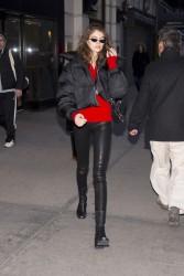 Kaia Gerber - Shopping in NYC 2/5/18