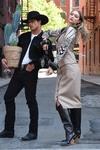 Gigi Hadid - On set of a photoshoot in NYC 5/30/18